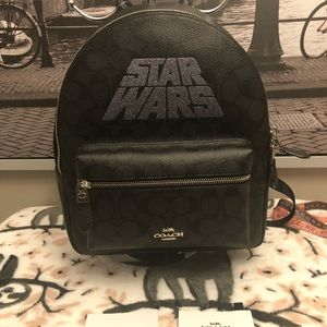 NWT coach Star Wars backpack